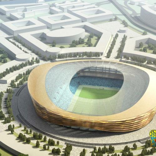 Nizhny Novgorod Stadium Piala Dunia 2018