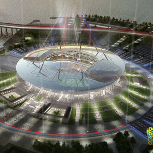 Saint Petersburg Stadium Piala Dunia 2018