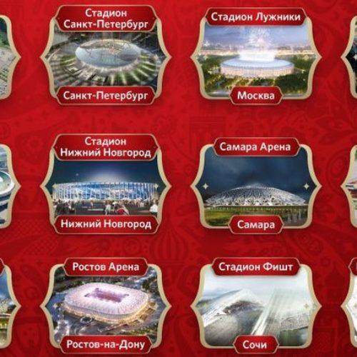 Yuk Intip Stadion Termegah Piala Dunia 2018 Rusia