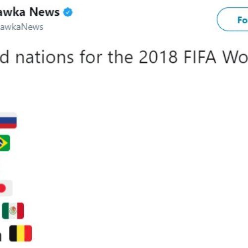Berikut Negara Yang Pasti Lolos Piala Dunia 2018