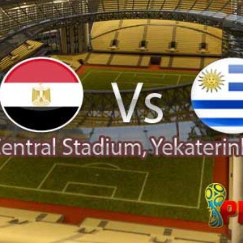 Prediksi Piala Dunia 2018 : Mesir vs Uruguay 15 Juni 2018