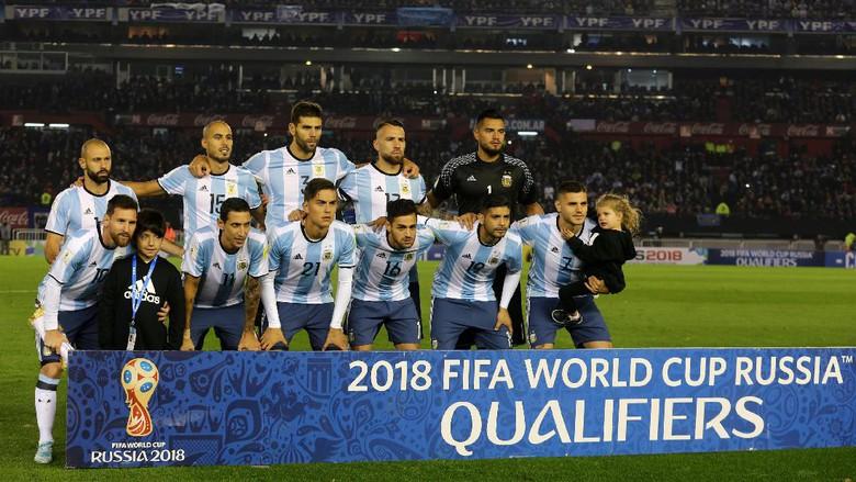 Profile Negara Argentina Piala Dunia 2018