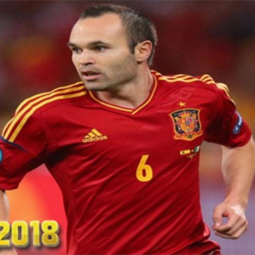 Iniesta Yakin Bahwa Spanyol Akan Menang Di Piala Dunia 2018