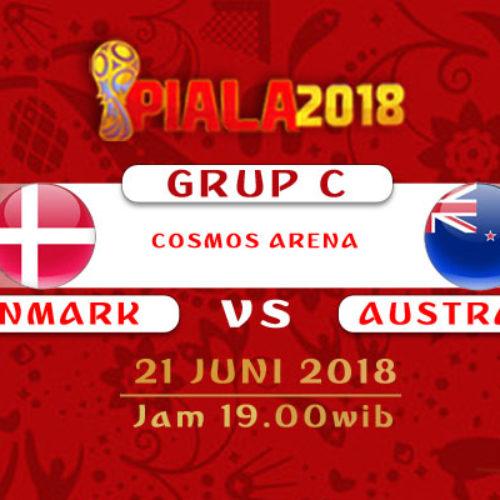 Prediksi Piala Dunia Rusia Denmark vs Australia 21 Juni 2018