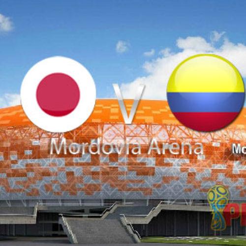 Prediksi Piala Dunia 2018 Rusia : Kolombia vs Jepang 19 Juni 2018