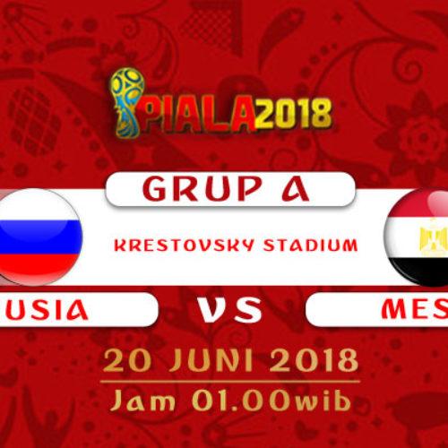 Prediksi Piala Dunia Rusia Rusia vs Mesir 20 Juni 2018
