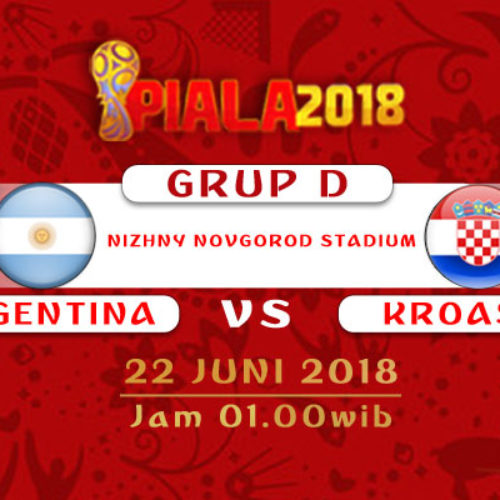 Prediksi Piala Dunia Rusia Argentina vs Kroasia 22 Juni 2018