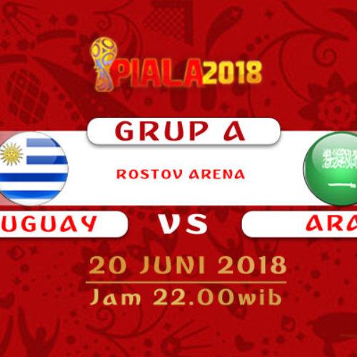 Prediksi Piala Dunia Rusia Uruguay vs Arab Saudi 20 Juni 2018