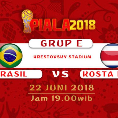 Prediksi Piala Dunia Rusia Brasil vs Kosta Rika 22 Juni 2018