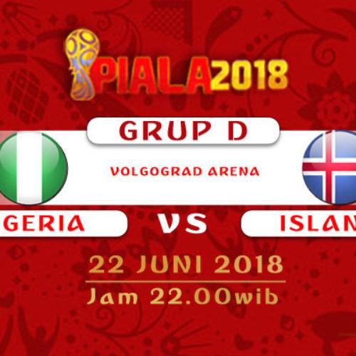 Prediksi Piala Dunia Rusia Nigeria vs Islandia 22 Juni 2018