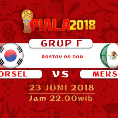 Prediksi Piala Dunia Korsel vs Meksiko 23 Juni 2018