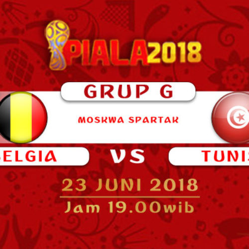 Prediksi Piala Dunia Rusia Belgia vs Tunisia 23 Juni 2018