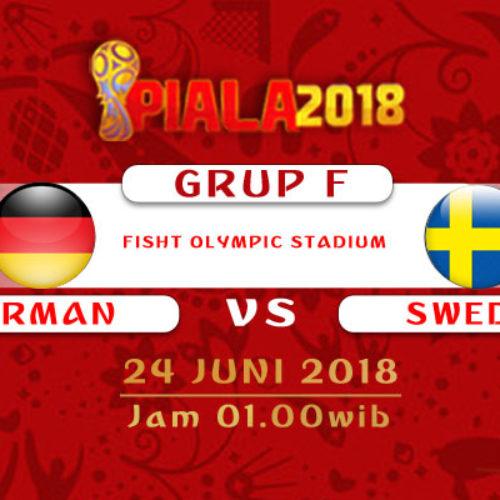 Prediksi Piala Dunia Rusia Jerman vs Swedia 24 Juni 2018