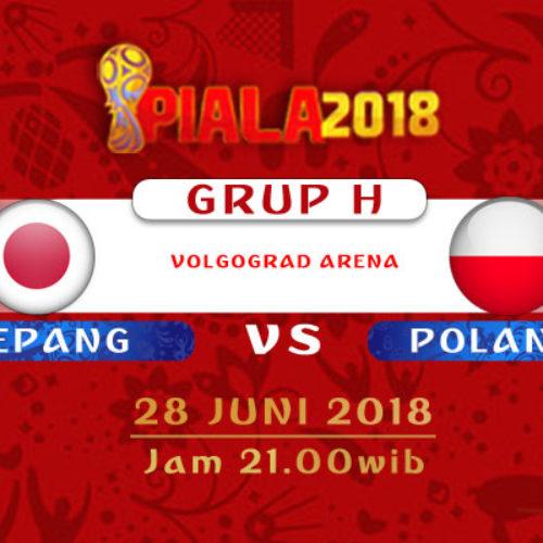 Prediksi Piala Dunia Jepang vs Polandia 28 Juni 2018