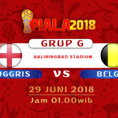 Prediksi Piala Dunia Inggris vs Belgia 29 Juni 2019